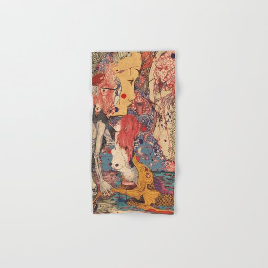 Release color Hand & Bath Towel