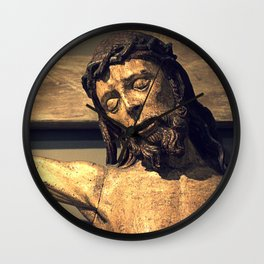 Crucified Christ Wall Clock