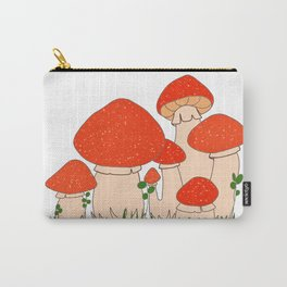 Mushroom Cluster Carry-All Pouch