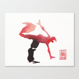 Capoeira 255 Canvas Print