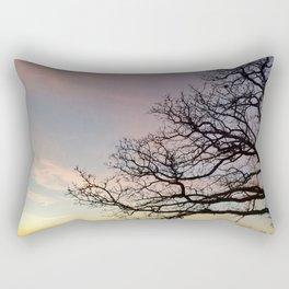 Subtle savanna sunset - Pheasant Branch Conservancy Rectangular Pillow