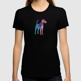 Irish Terrier in watercolor T-shirt