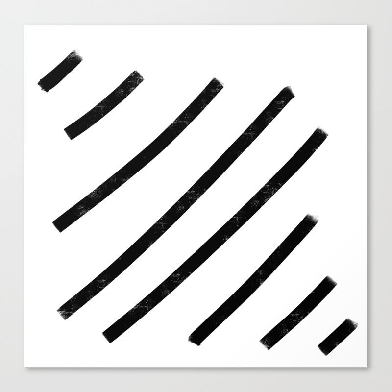 Lemme See That Line Werk Canvas Print by Soyalmondmilk CNV8286541