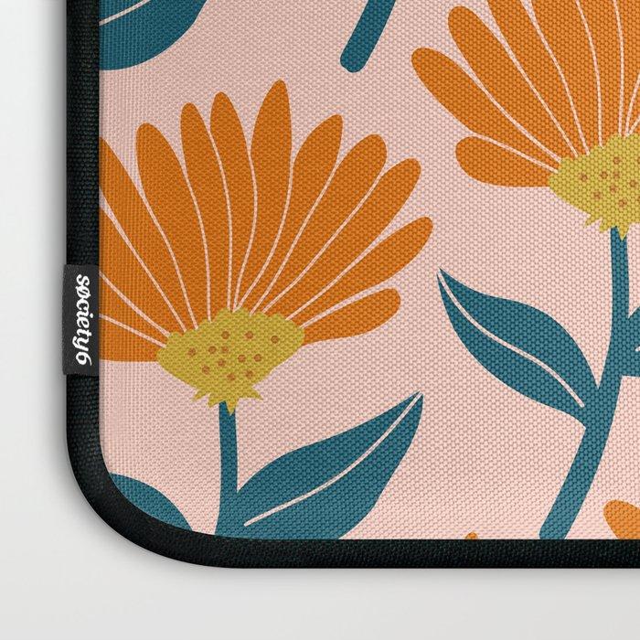 Floral_pattern Laptop Sleeve