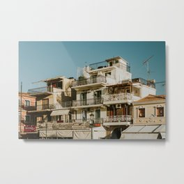 The roofs of Zakynthos Metal Print