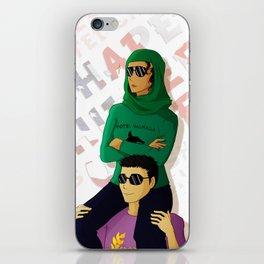 Shapeshifters - Samirah al Abbas & Frank Zhang iPhone Skin