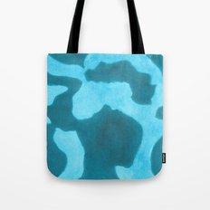 Blue Rising Tote Bag