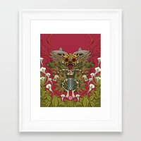 mexican Framed Art Prints featuring Mexican by Joel Velasco