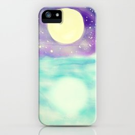 Clear Open Waters iPhone Case