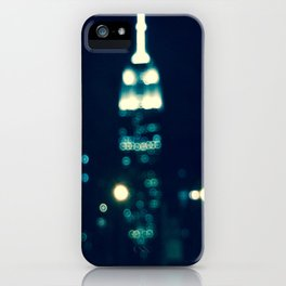 NYC Empire State  iPhone Case
