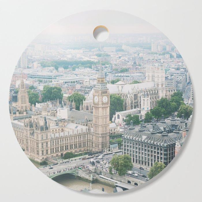 London Skyline Travel Photography Cutting Board