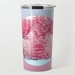 Candy pine trees lens Travel Mug