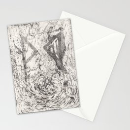 Energy Earth Moon Stationery Cards