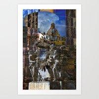 roman Art Prints featuring Roman Impression  by CAPTAINSILVA