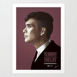 TOMMY SHELBY Art Print