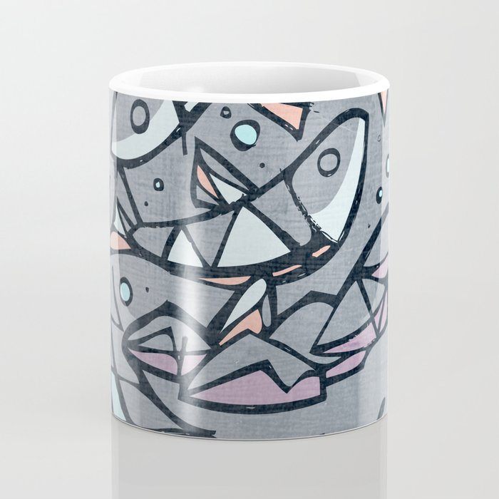 Five breads and two fishes, religious illustration Coffee Mug