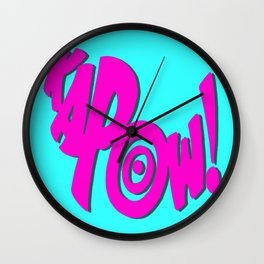 KAPOW! # 3 Wall Clock