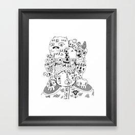 Leader of the Pack Framed Art Print