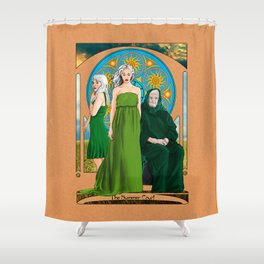 The Summer Court of the Sidhe Shower Curtain