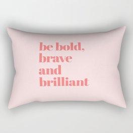 be bold III Rectangular Pillow