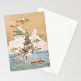 Sea dream Stationery Cards