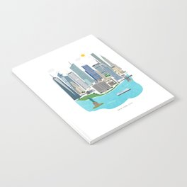 New York City Illustration Notebook