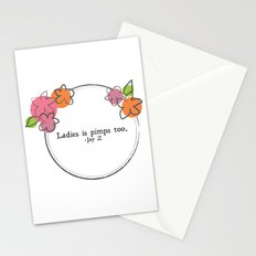 Floral - Ladies Stationery Cards