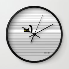 I Creep On You Wall Clock