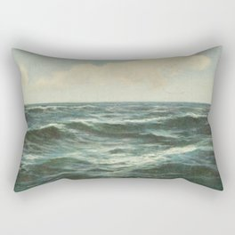 Sea And Sky Rectangular Pillow