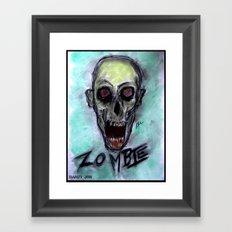 Z O M B I E Framed Art Print