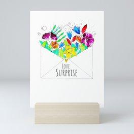 love surprise Mini Art Print