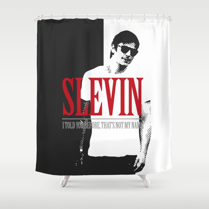 Lucky Scarface Slevin Shower Curtain