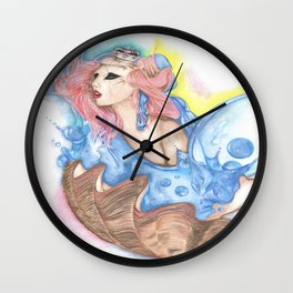 Birth of Venus 2.0 Wall Clock