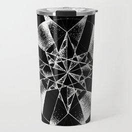 Inverted Crystalline Compass Travel Mug