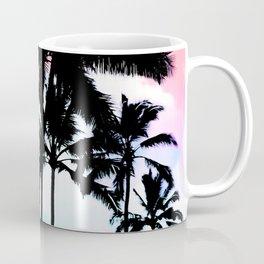 Sunset Summer Palm Trees Coffee Mug