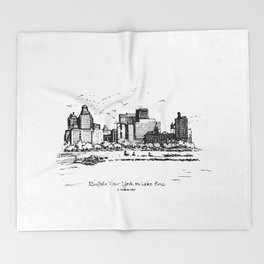 Buffalo By AM&A's 1987 Throw Blanket