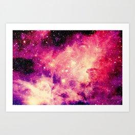 Galaxy : Carina Nebula Art Print