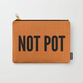 Not Pot Bag - Burnt Orange Carry-All Pouch