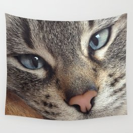 Frankie Blue Eyes Wall Tapestry