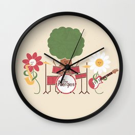 The Allergies Wall Clock