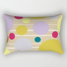 STRIPES & DOTS 4-2018 Rectangular Pillow