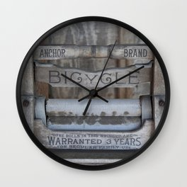 Antique Washer Wall Clock