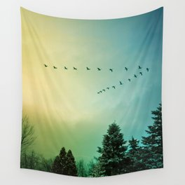 Rise Above It Wall Tapestry