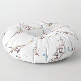 Uniraptor by Serena Art Floor Pillow