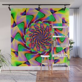 frequency mandala Wall Mural