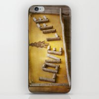 philosophy iPhone & iPod Skins featuring Simple Philosophy by Kimberley Britt