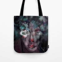 fairy Tote Bags featuring fairy by Irmak Akcadogan