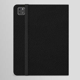 Simply Midnight Black iPad Folio Case