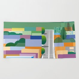 The End of Desire Beach Towel