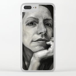 France Clear iPhone Case
